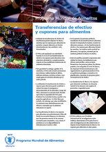 Transferencias de efectivo y cupones para alimentos