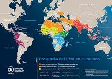 Presencia del PMA en el mundo 2015