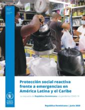 Protección social reactiva frente a emergencias: La respuesta de República Dominicana a la pandemia COVID-19