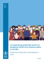 La respuesta de protección social a la pandemia COVID-19 en América Latina y el Caribe