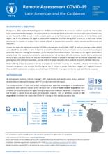 Remote Assessments Reports on the Impact of COVID-19/Informes de encuestas remotas sobre el impacto de la COVID-19