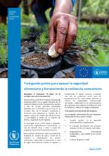 PRO-ACT: Respuesta a El Niño en el Corredor Seco de Centroamérica, 2016-2018