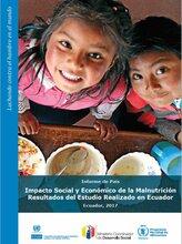 Ecuador: Impacto social y económico de la malnutrición